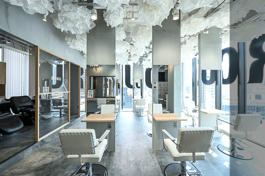 SOURCE hair atelier 茶屋町