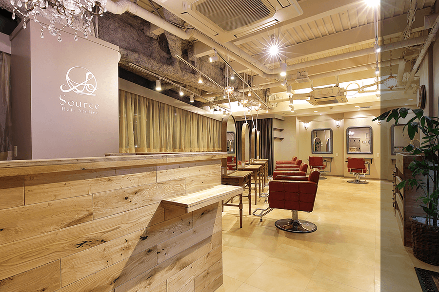 SOURCE hair atelier 天王寺 本店